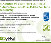 PNA MSC CoC Certificate Renewed