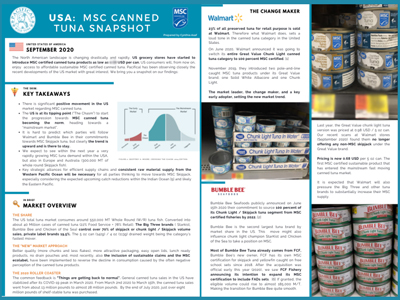 USA: MSC Canned Tuna Snapshot 2020